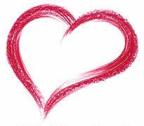 kleurpotlood-hart