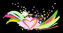 achtergrond-golven-hart-roze