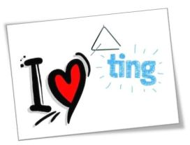 i love ting ting.