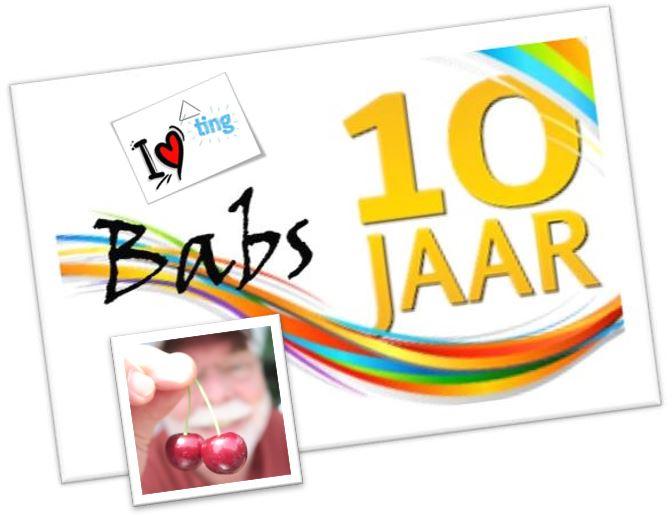 10 jaar Babs Nieuw