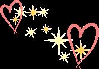 Twee-harten-sterretjes